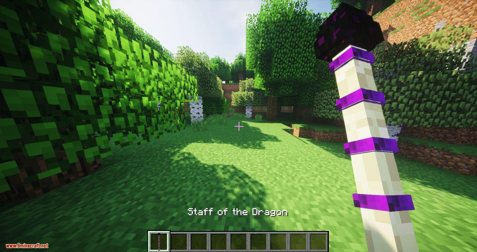 Utility Staffs Mod for minecraft 01