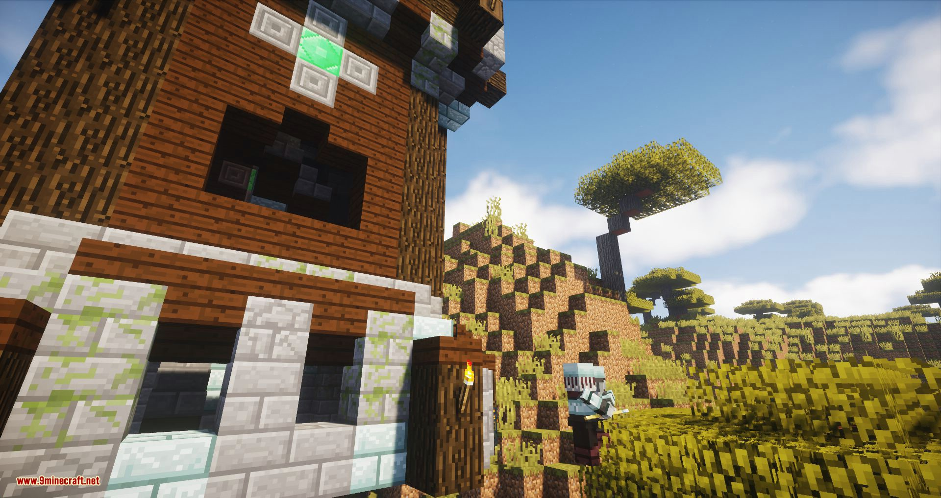Village and Pillage and Pillage and Village mod for minecraft 11