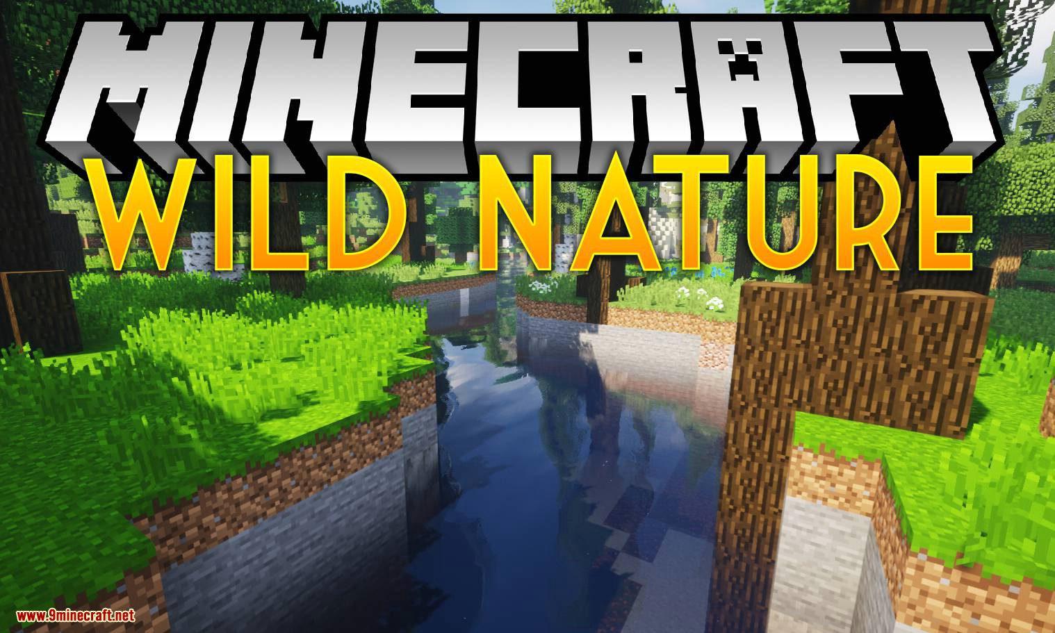 Wild Nature mod for minecraft logo