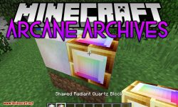Arcane Archives mod for minecraft logo