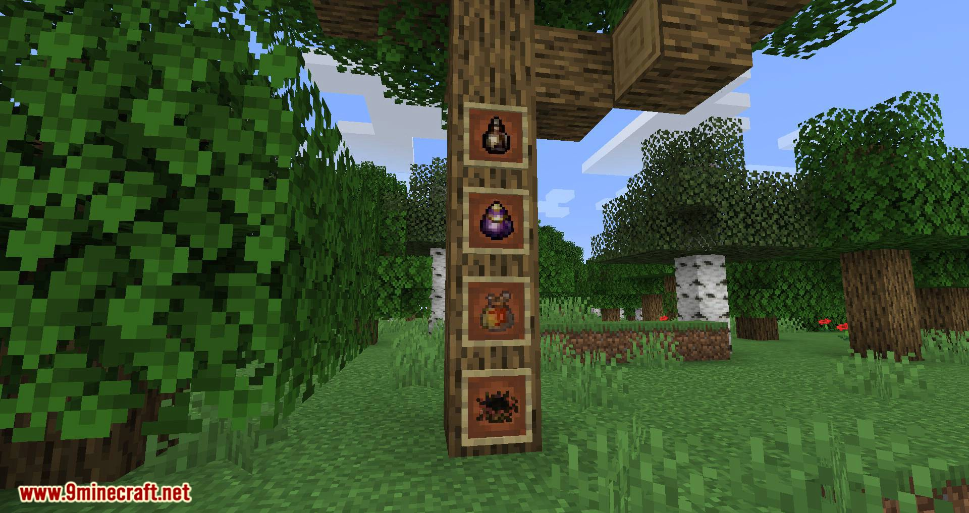 Bird Nests and Treasures mod for minecraft 02