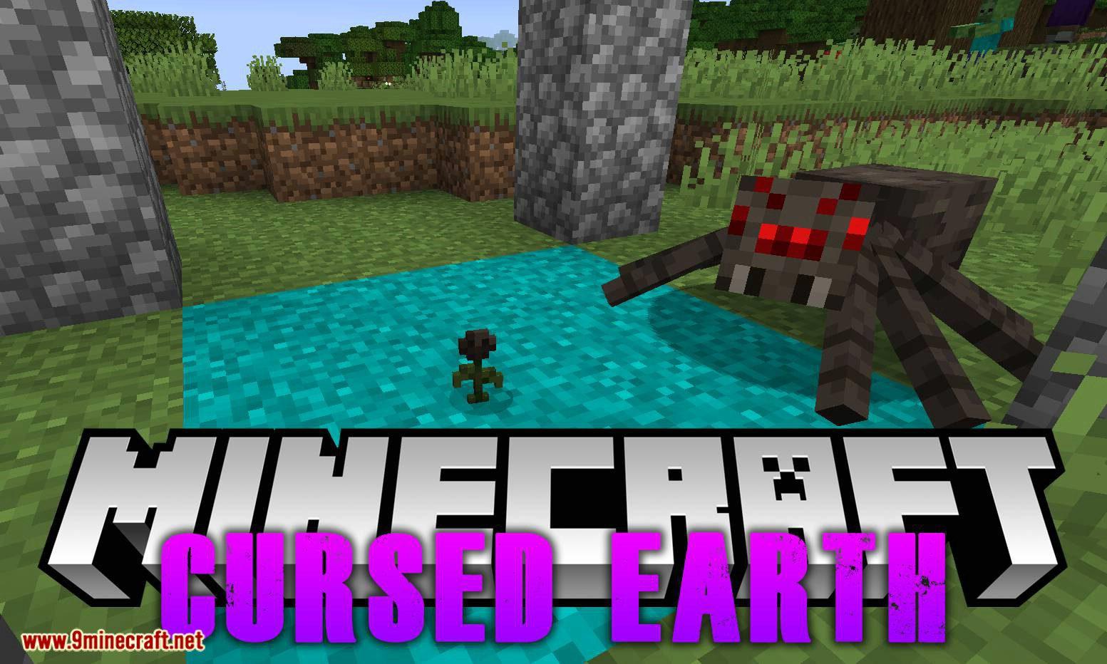 Cursed Earth mod for minecraft logo