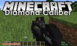 Diamond Caliber mod for minecraft logo