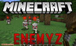 EnemyZ mod for minecraft logo
