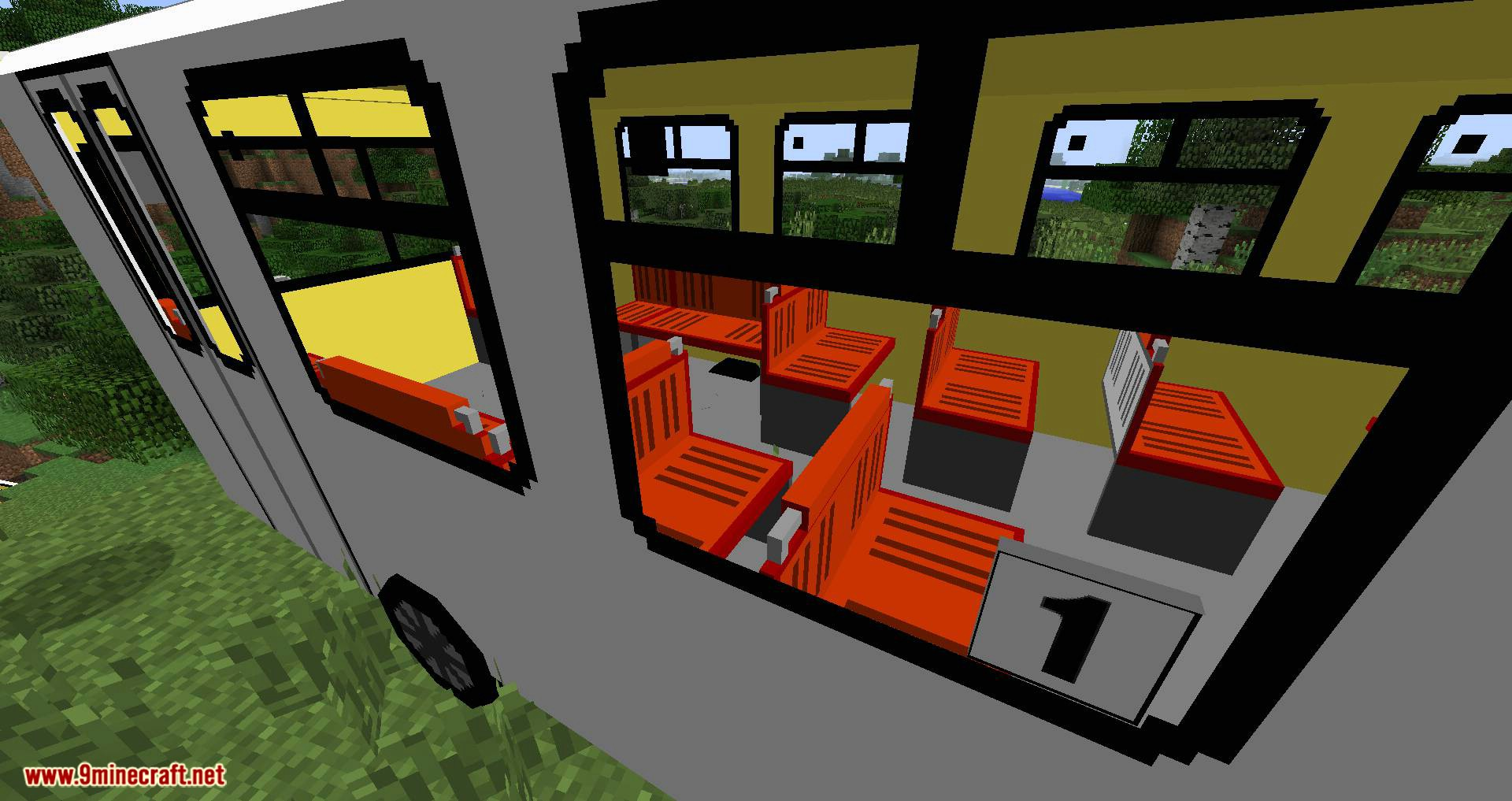 Flan's Bus PAZ Content Pack 1 7 10 (Adds 15 PAZ Buses