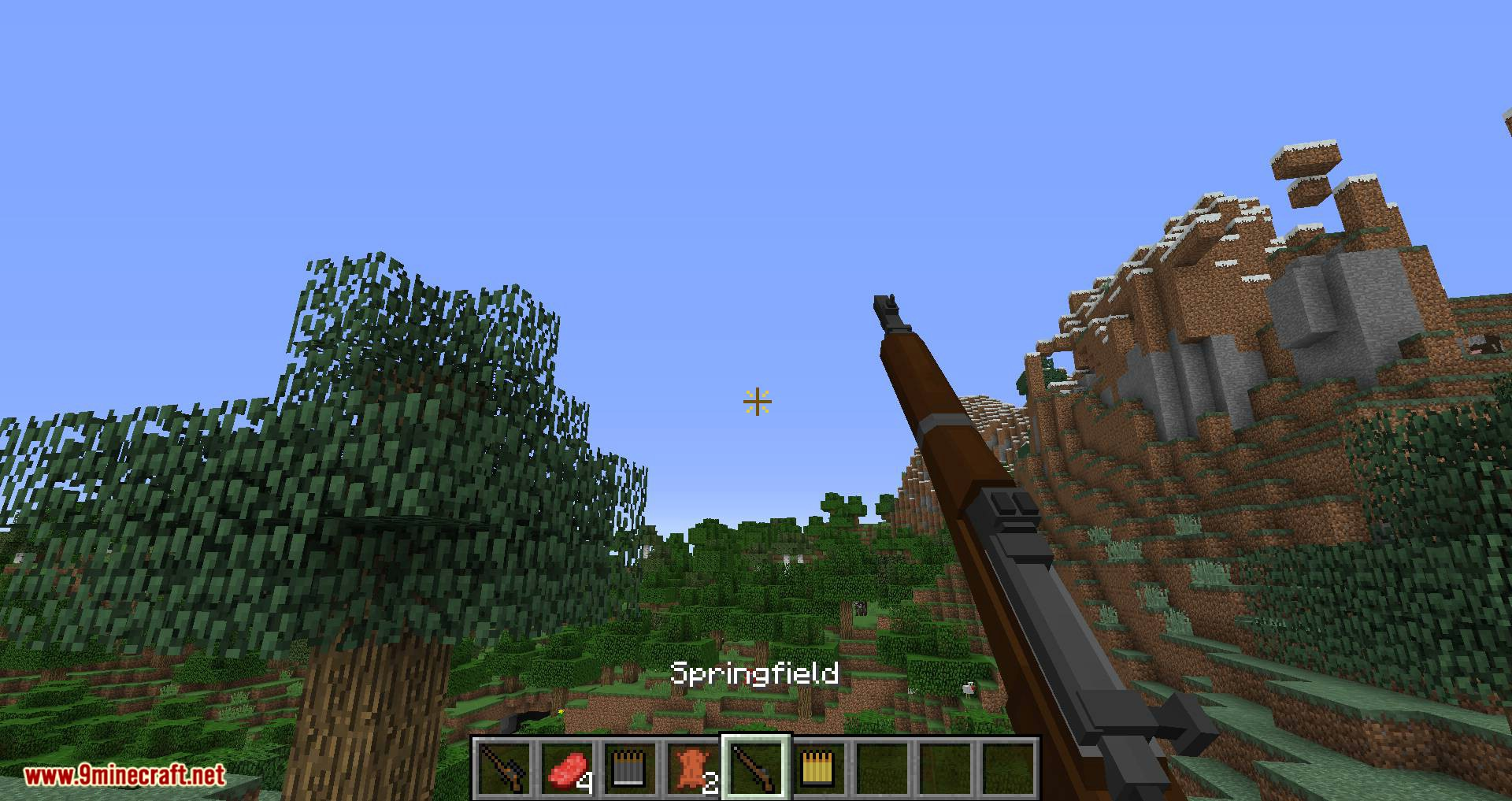 Flan_s Content Pack Call of Duty 2 Bolt-Action Rifles mod for minecraft 05