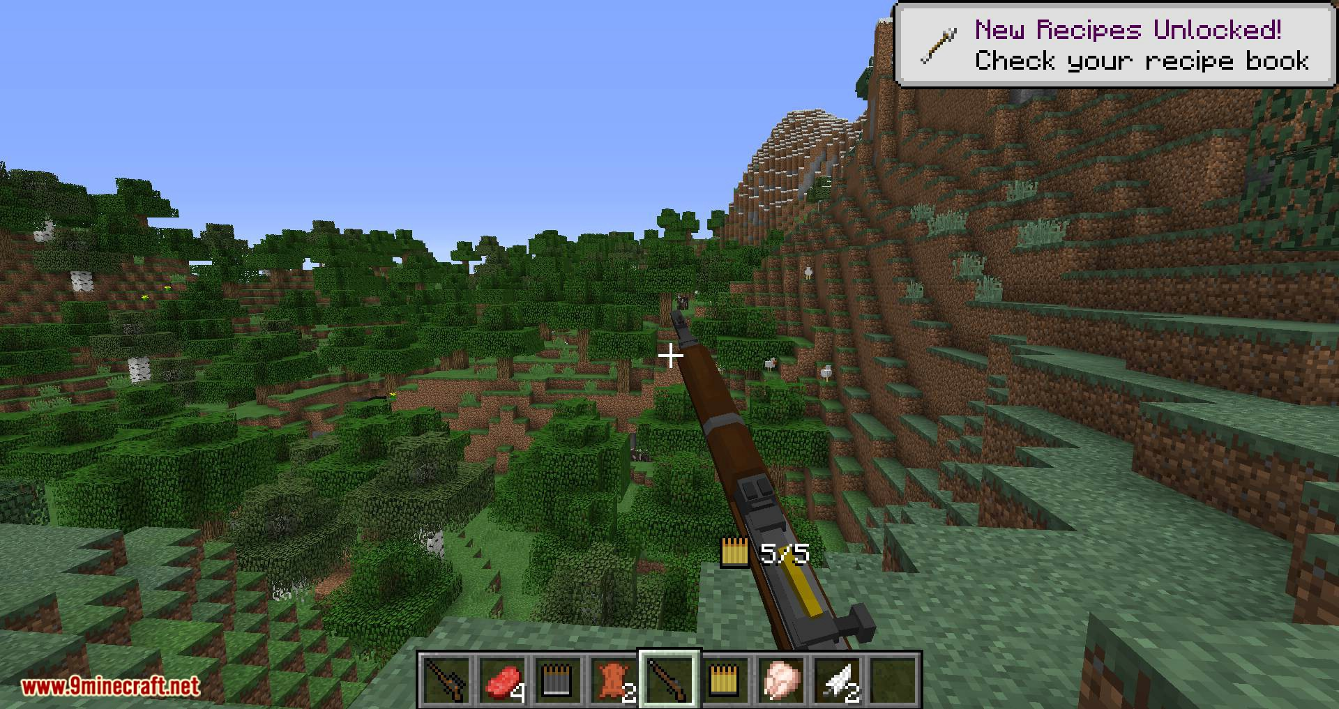 Flan_s Content Pack Call of Duty 2 Bolt-Action Rifles mod for minecraft 06