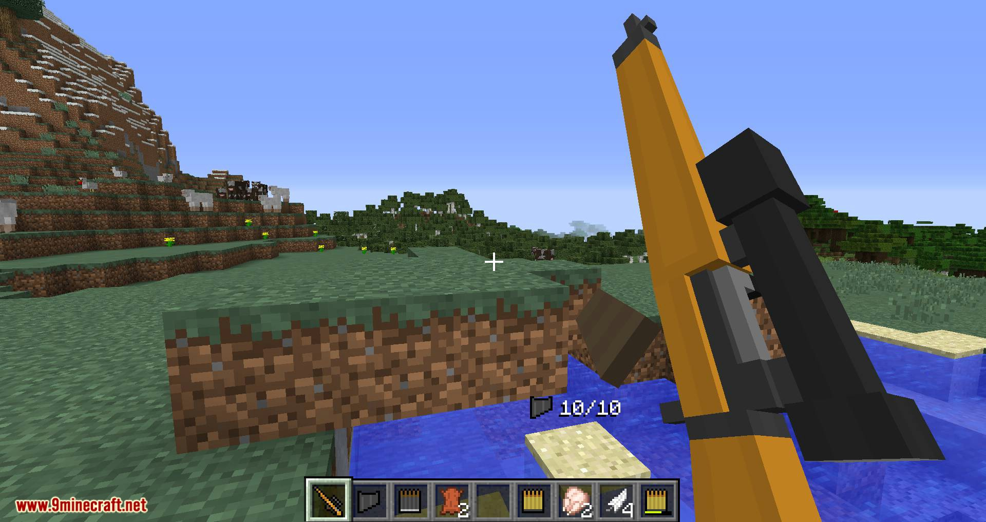 Flan_s Content Pack Call of Duty 2 Bolt-Action Rifles mod for minecraft 08