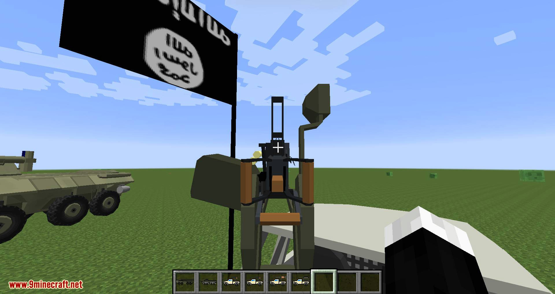 Flan_s Content Pack Eastern Escalation mod for minecraft 03