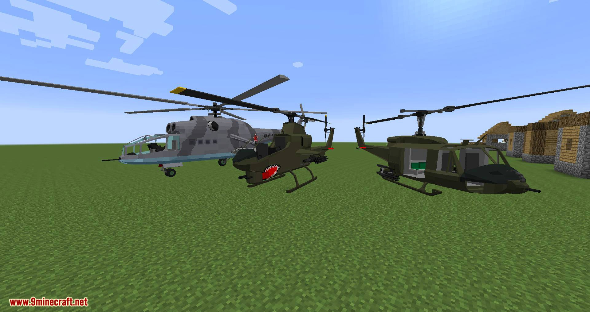 Flan_s Content Pack Eastern Escalation mod for minecraft 08