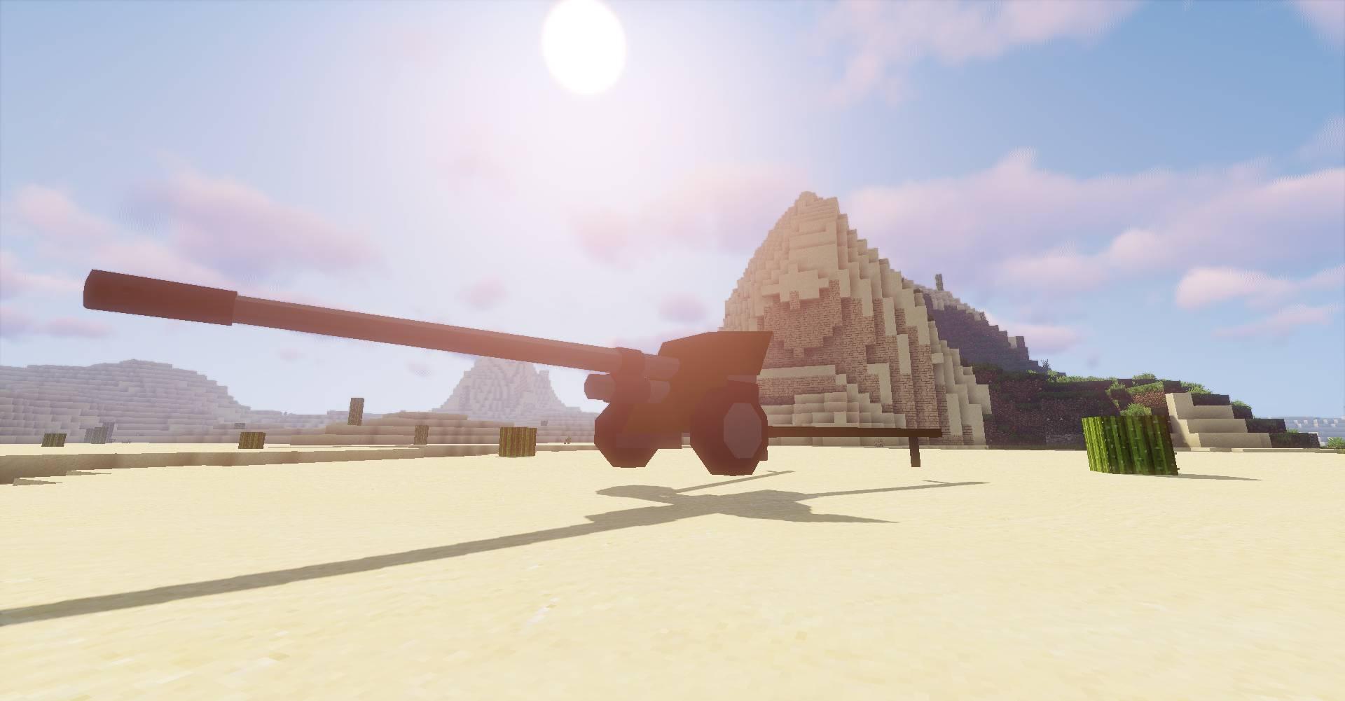 Flan_s Content Pack World War 3 mod for minecraft 42