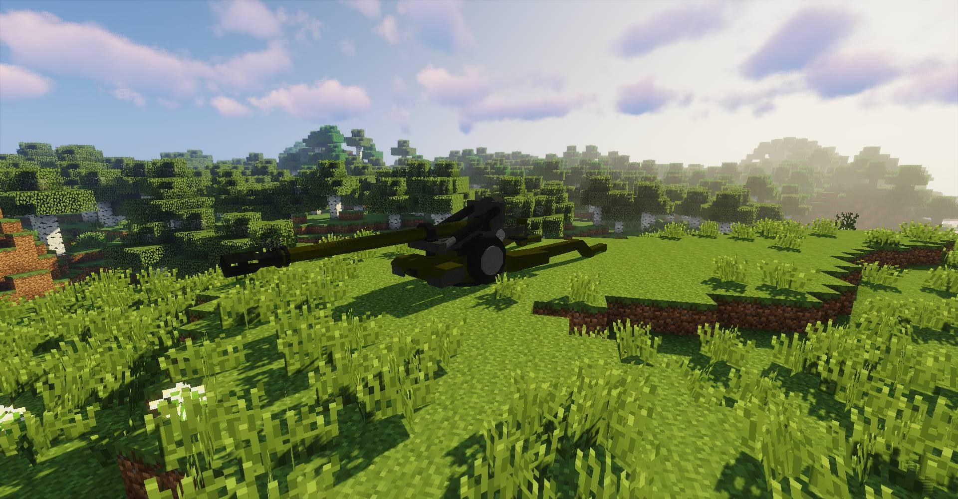 Flan_s Content Pack World War 3 mod for minecraft 49