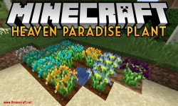 Heaven Paradise Plant mod for minecraft logo