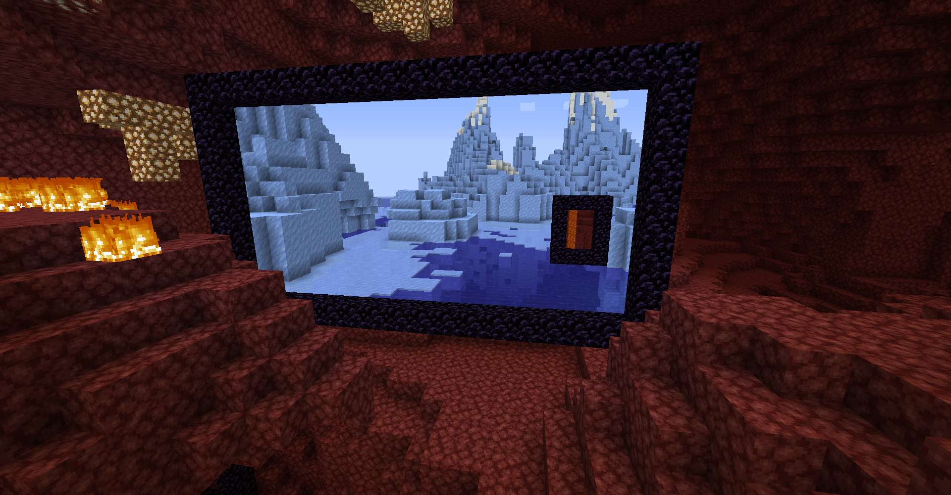 Immersive Portals Mod for minecraft 22