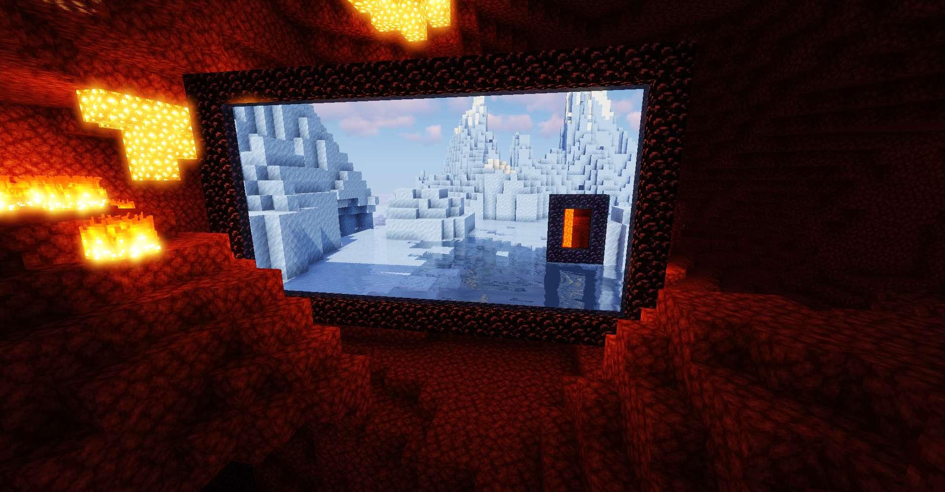 Immersive Portals Mod for minecraft 23