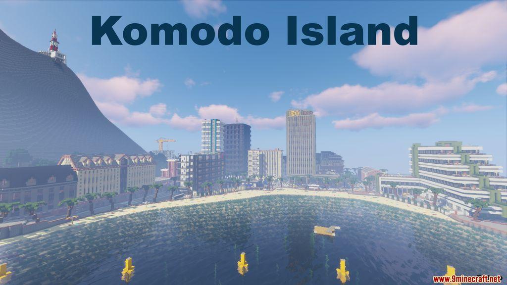 Komodo Island Map Thumbnail