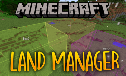 Land Manager mod for minecraft logo