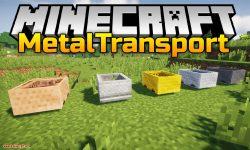 MetalTransport mod for minecraft logo