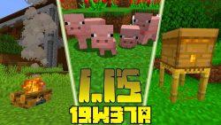 Minecraft 1.15 Snapshot 19w37a
