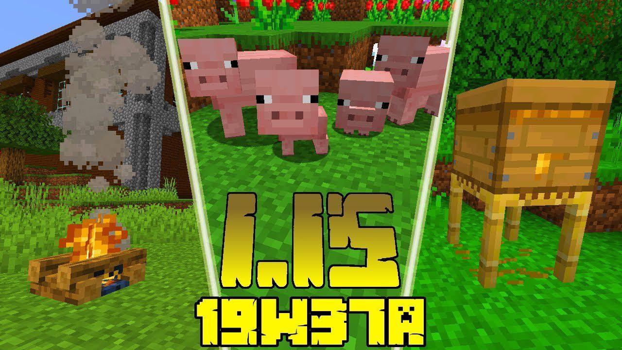 Minecraft 1.15 Snapshot 19w37a (More Version Parity ...