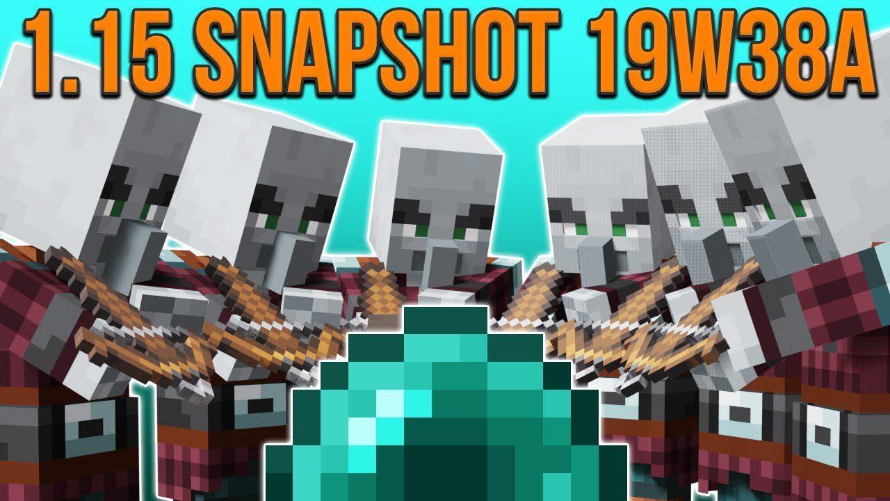 Minecraft 1.15 Snapshot 19w38a