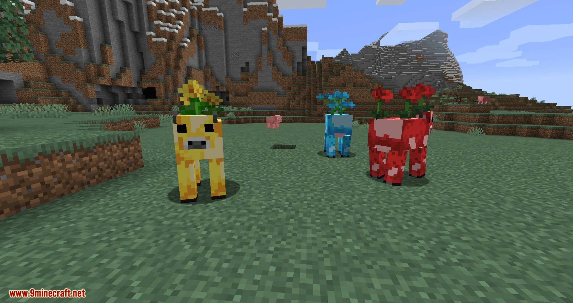 Mooblooms mod for minecraft 04