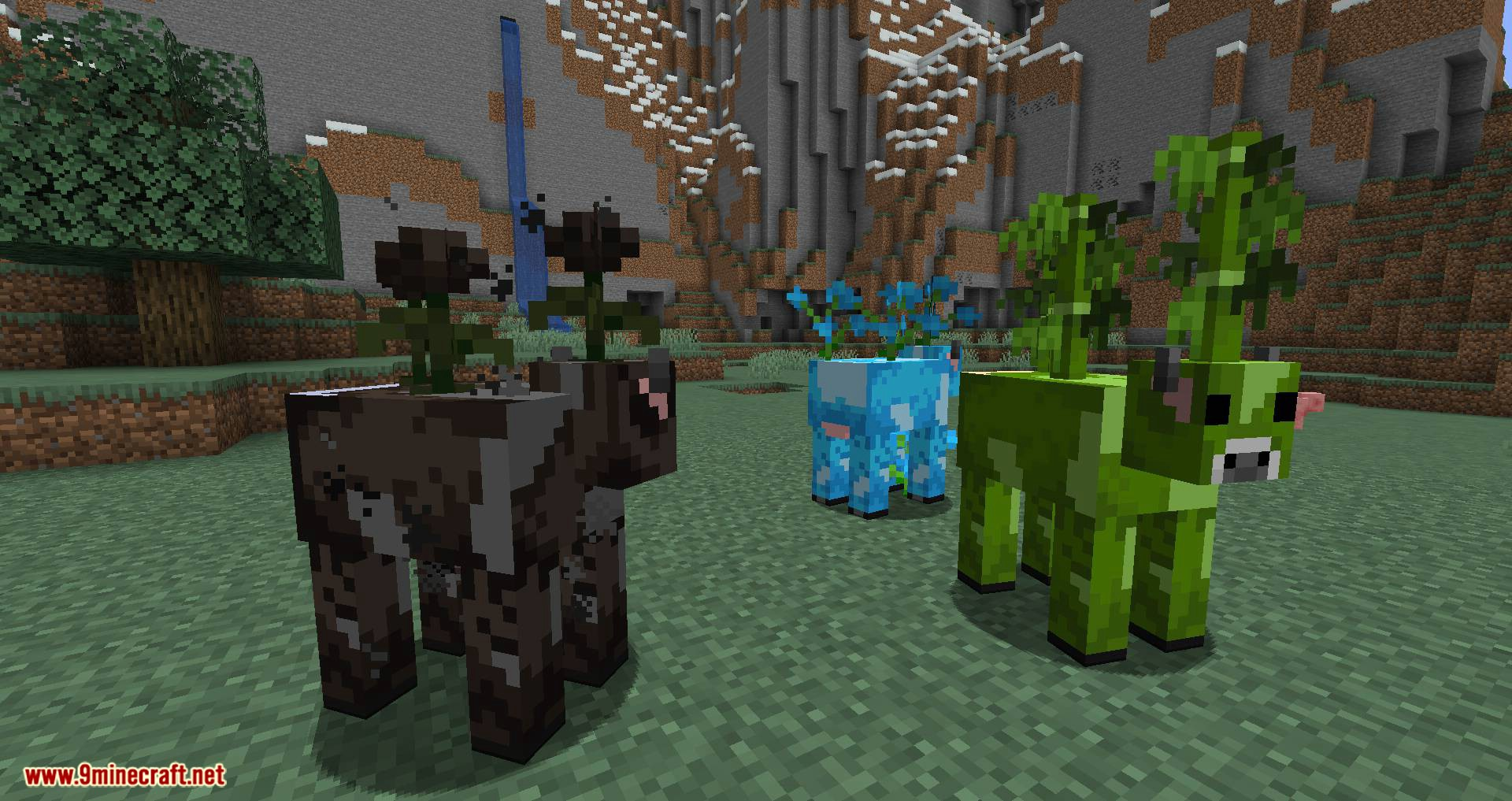 Mooblooms mod for minecraft 05