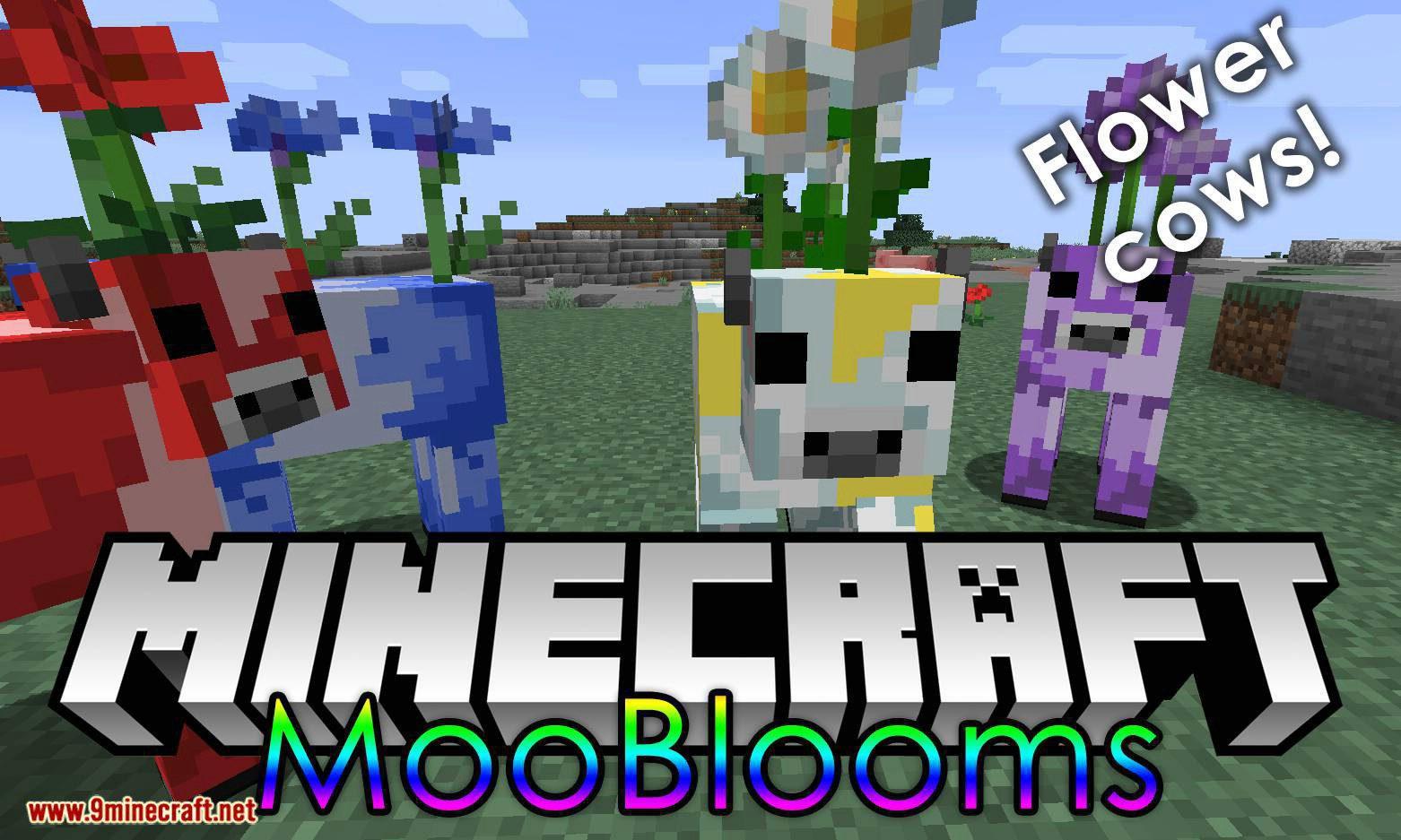 Mooblooms mod for minecraft logo