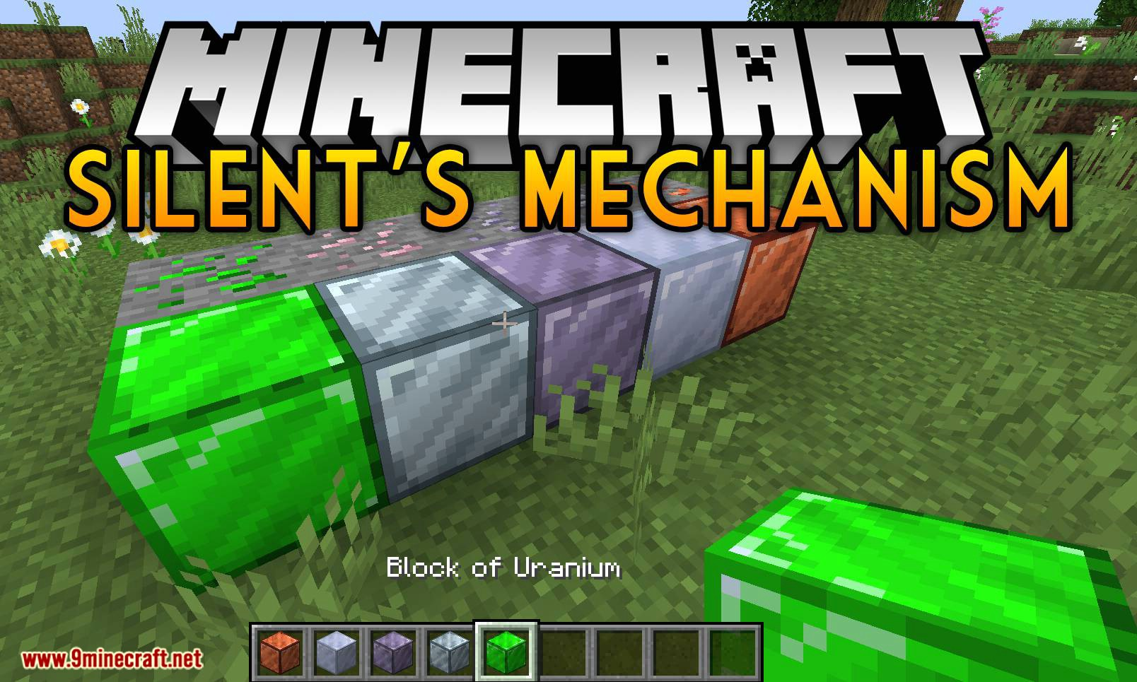 Silent_s Mechanism mod for minecraft logo