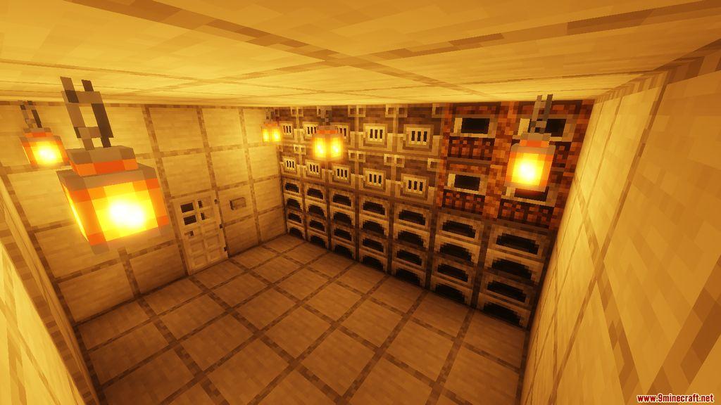 Snowy Log Cabin Map Screenshots (1)
