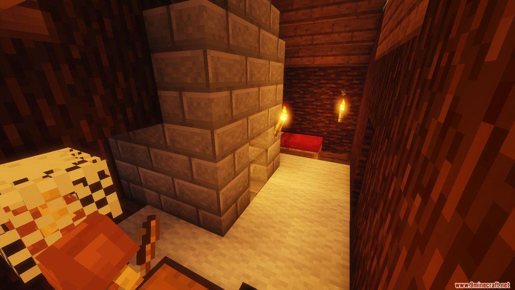 Snowy Log Cabin Map Screenshots (2)