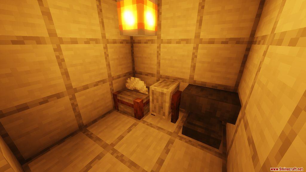 Snowy Log Cabin Map Screenshots (4)