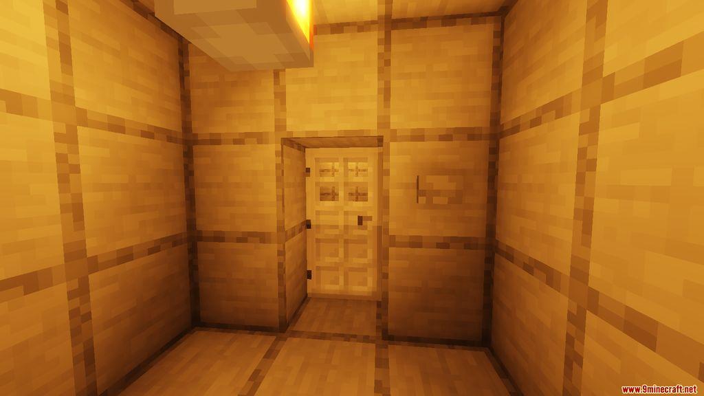 Snowy Log Cabin Map Screenshots (5)