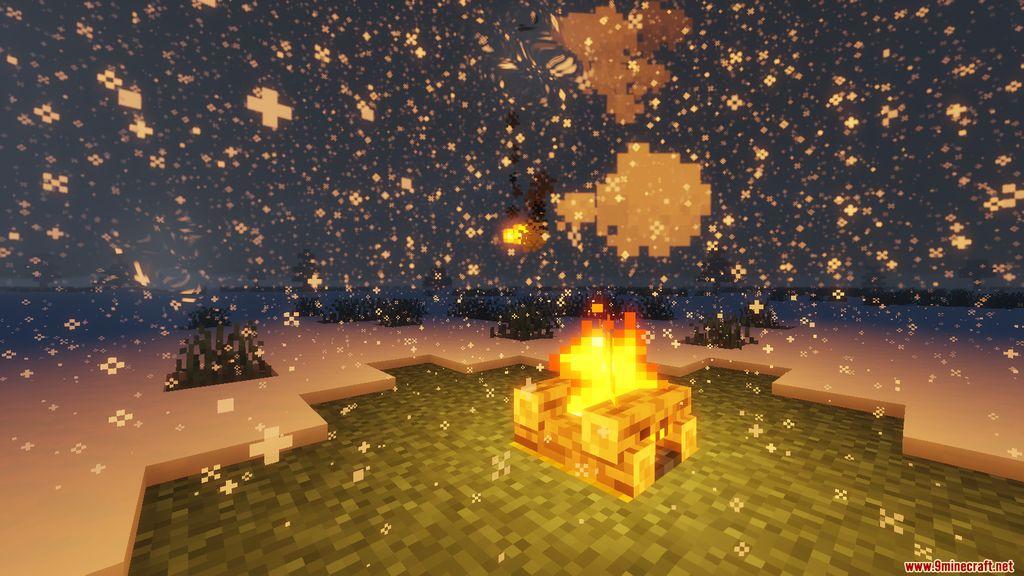 Snowy Log Cabin Map Screenshots (7)