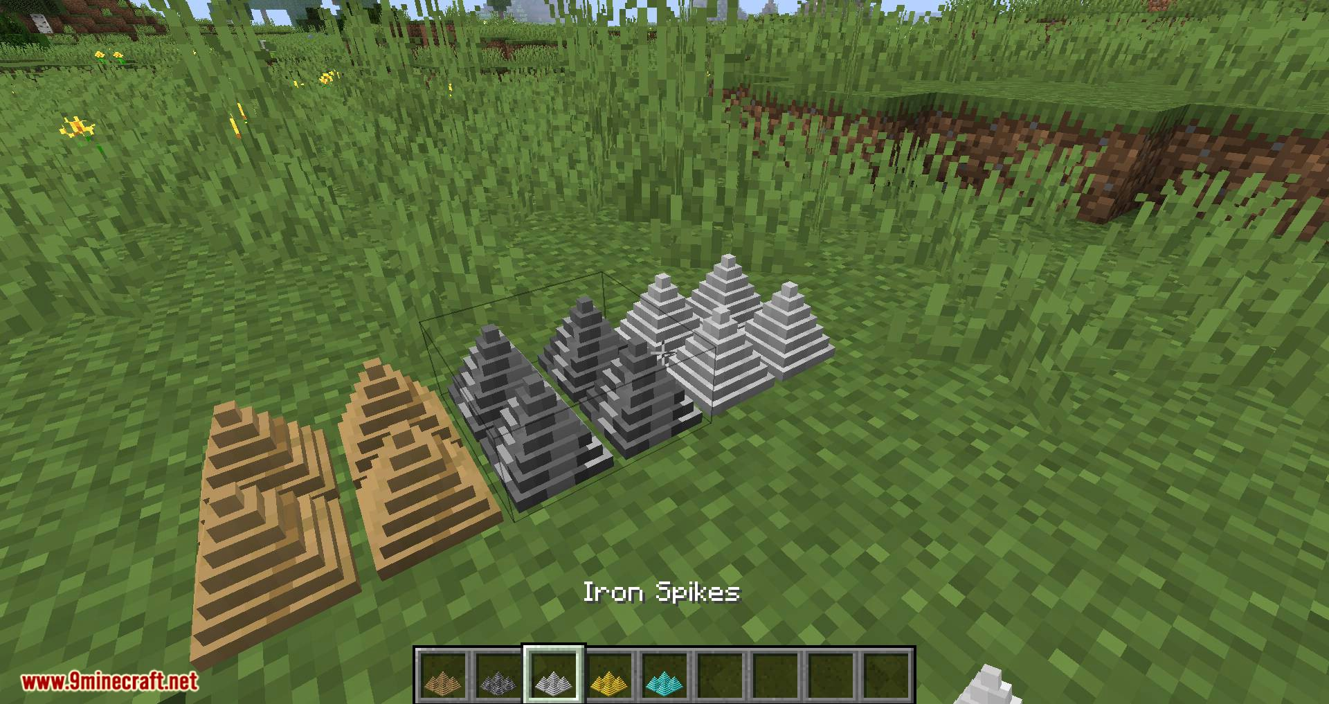 Spike Traps mod for minecraft 02