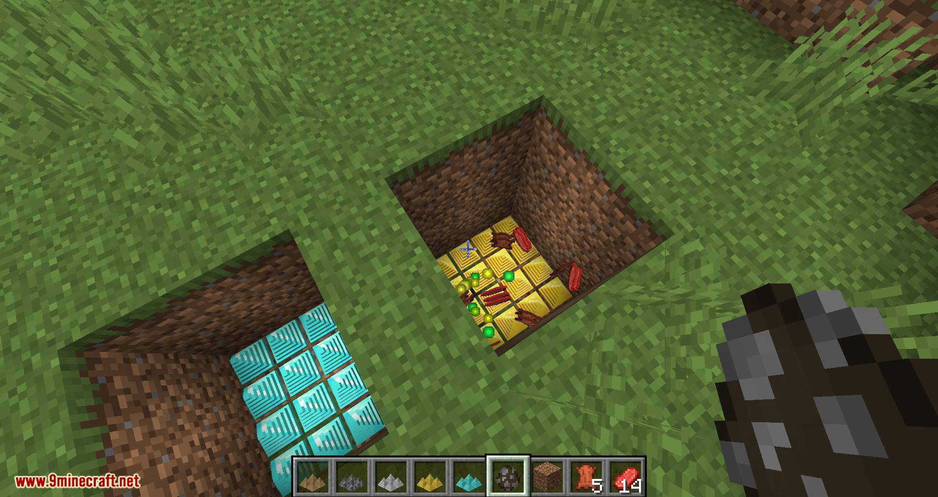 Spike Traps mod for minecraft 08