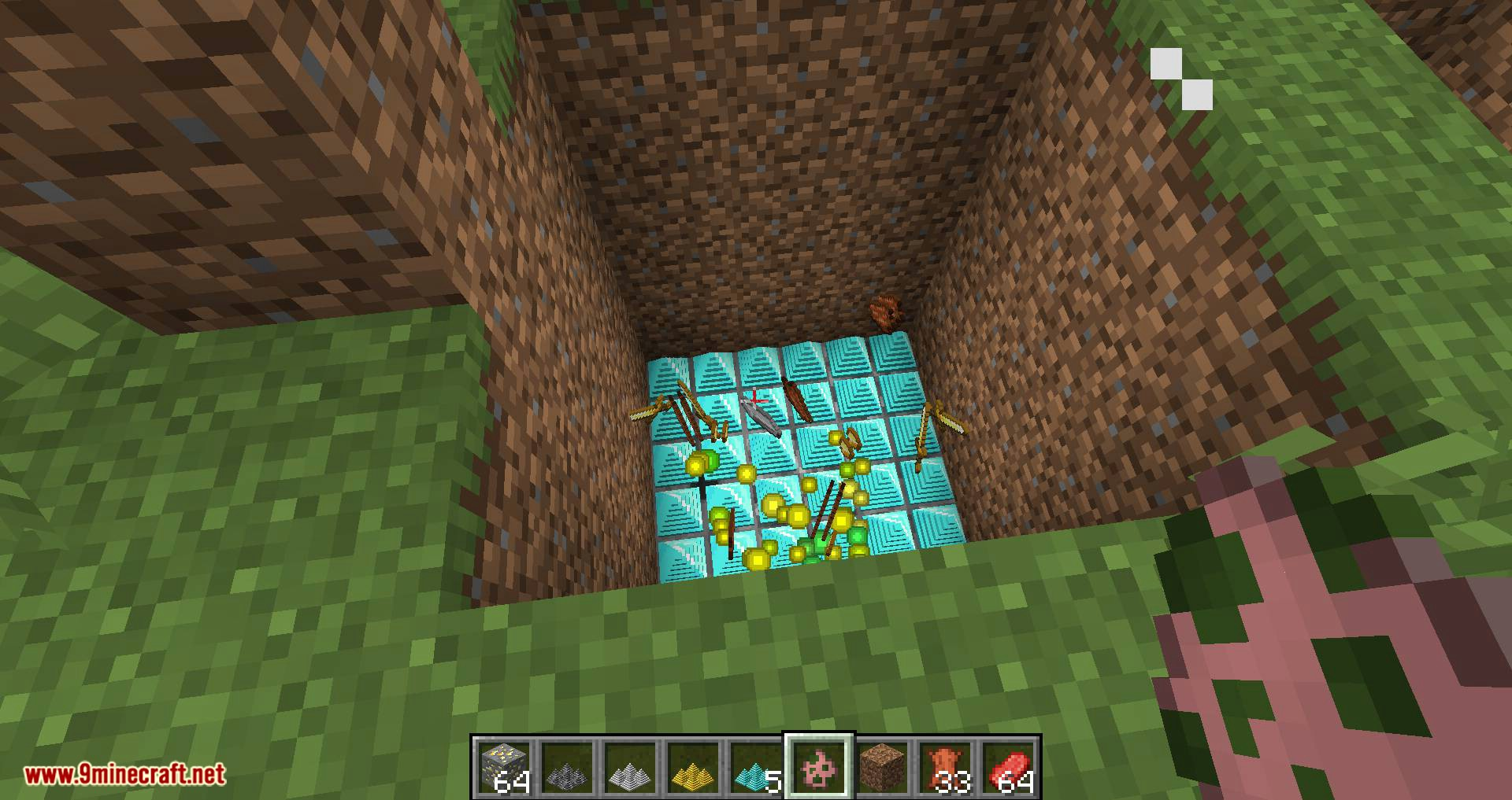 Spike Traps mod for minecraft 10
