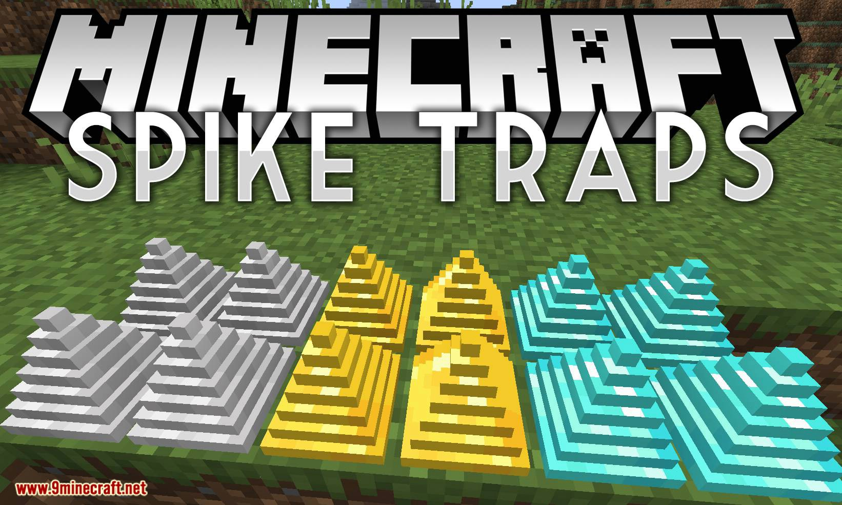 Spike Traps mod for minecraft logo