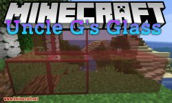 Uncle G_s Glass mod for minecraft logo