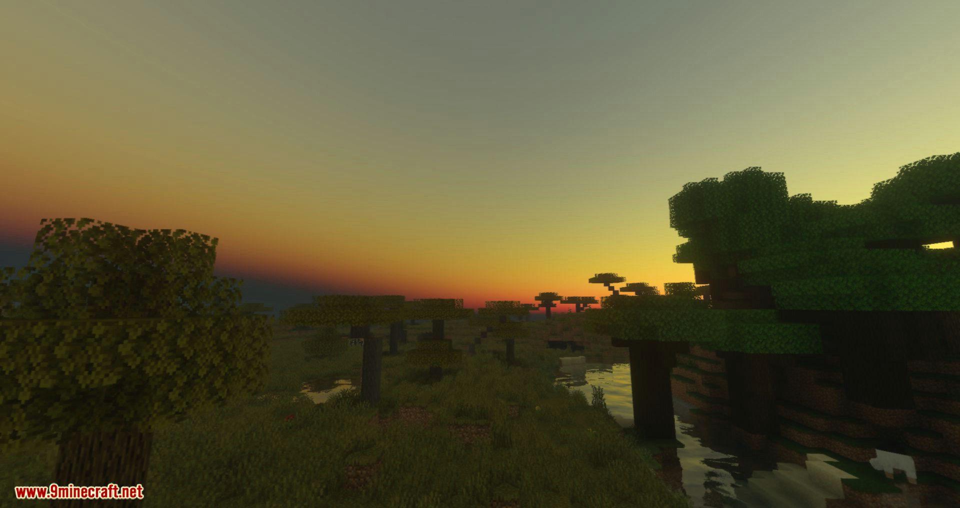 Voyager Shader for minecraft 10