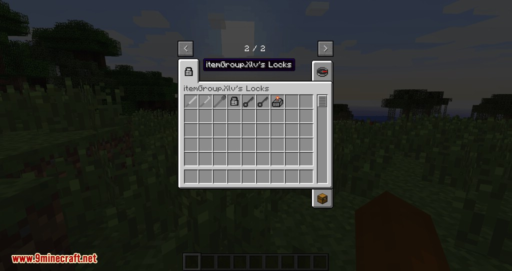 Xlv_s Locks mod for minecraft 01