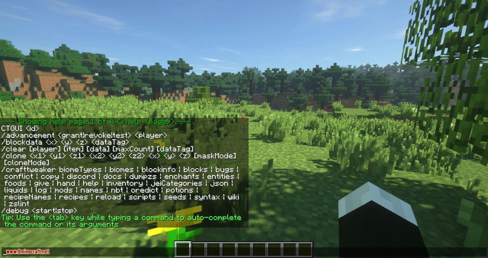Zen Triggers mod for minecraft 08