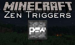 Zen Triggers mod for minecraft logo