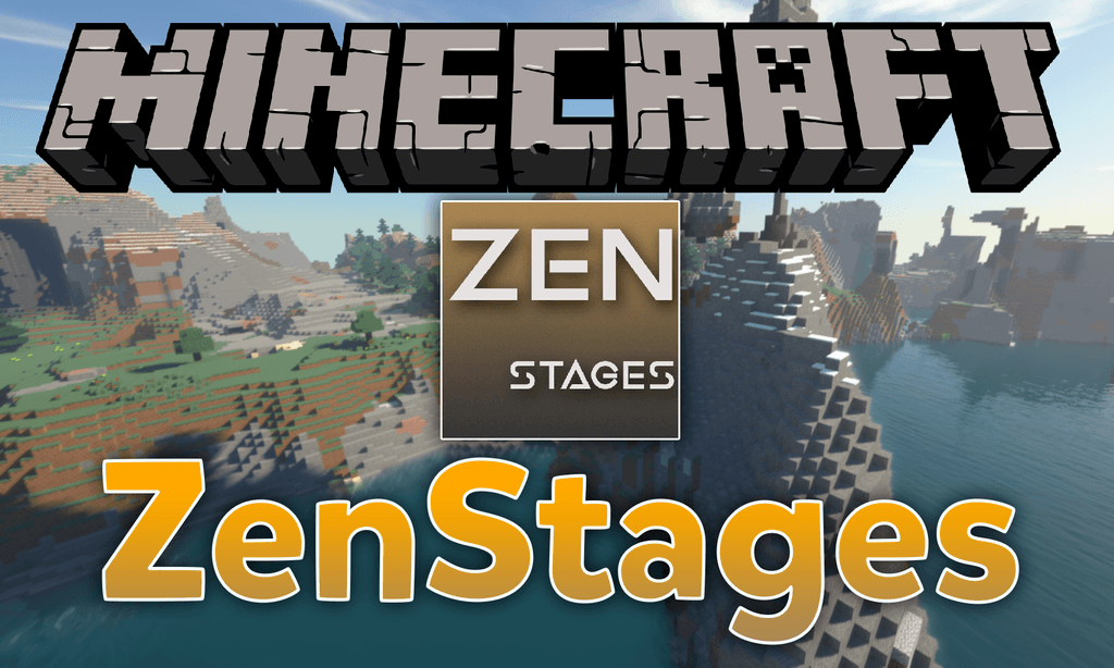 ZenStages mod for minecraft logo