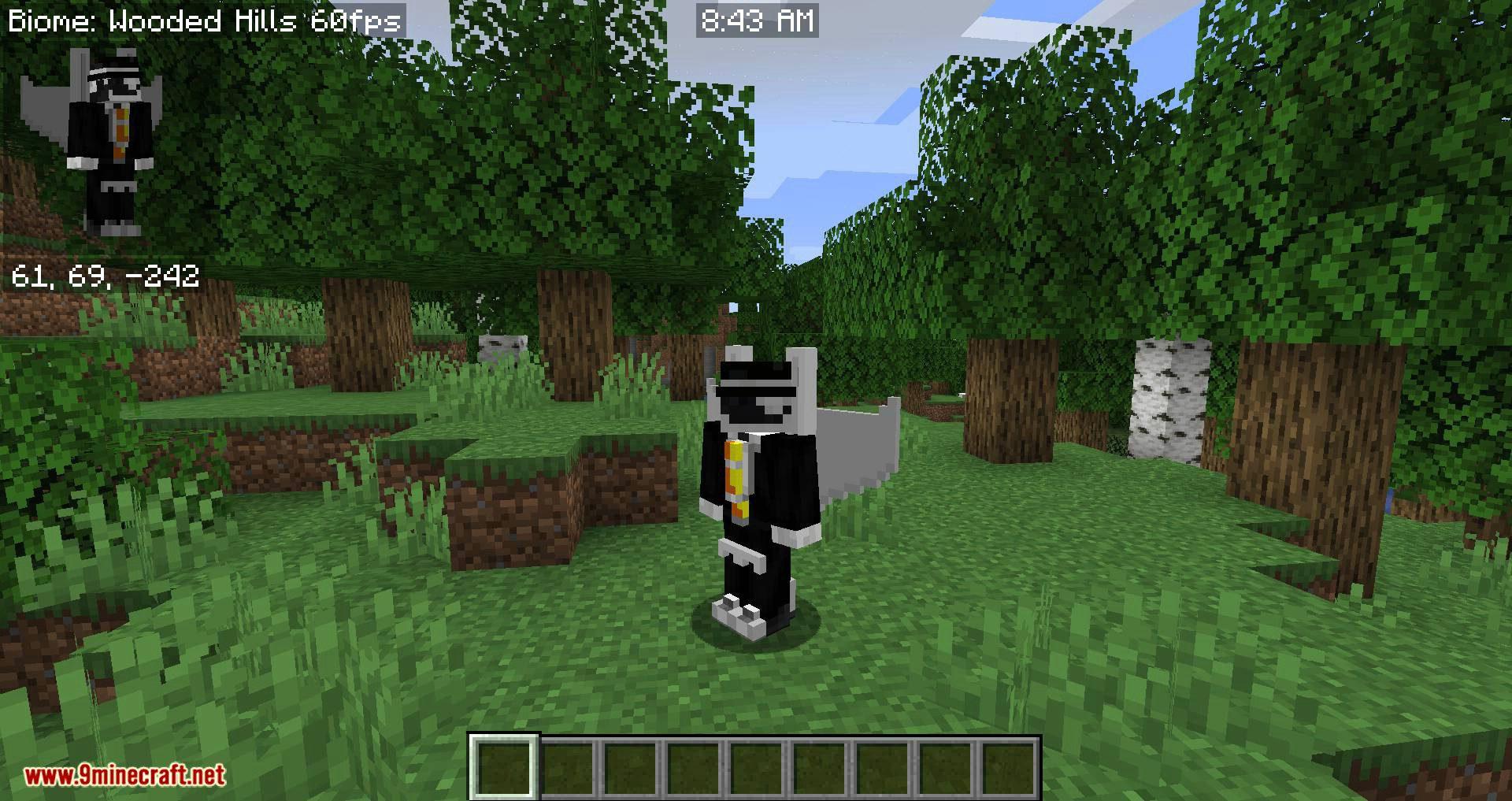 Advanced Skin Customization mod for minecraft 05