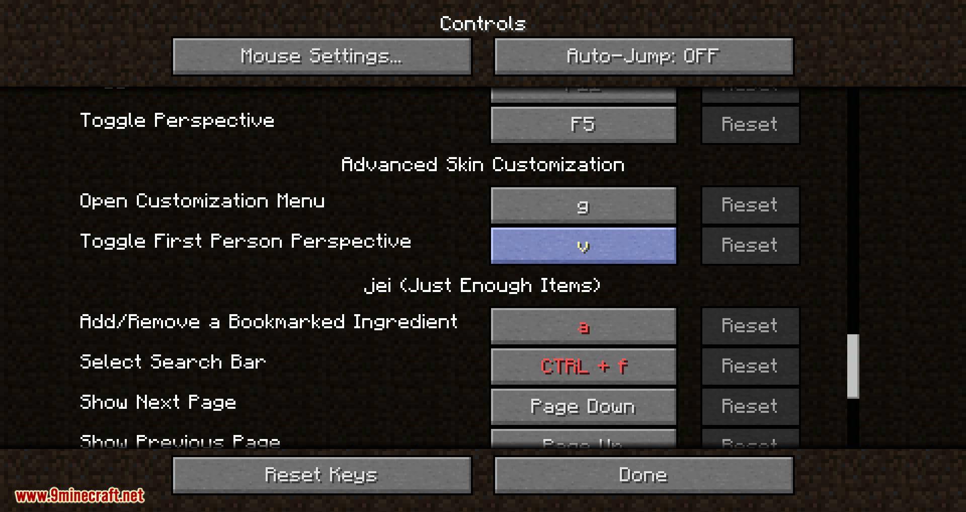 Advanced Skin Customization mod for minecraft 08