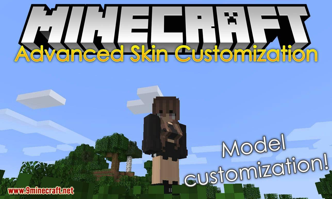 Advanced Skin Customization mod for minecraft logo