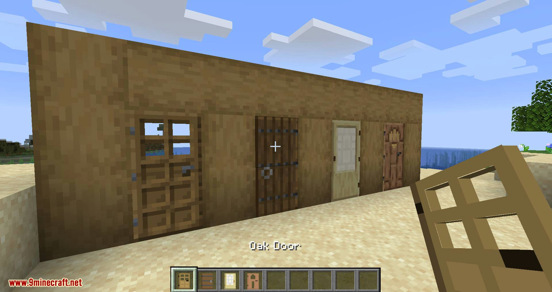Automatic Door mod for minecraft 01