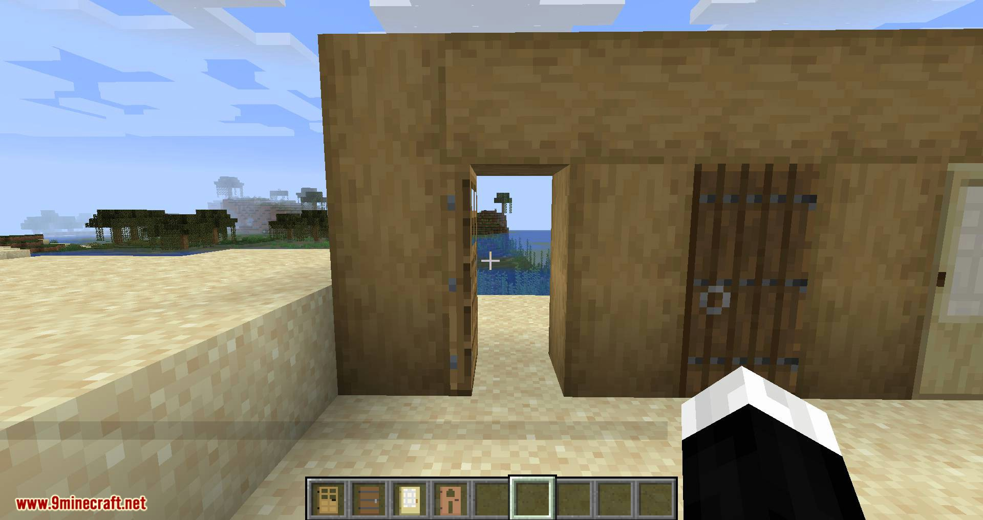 Automatic Door mod for minecraft 02
