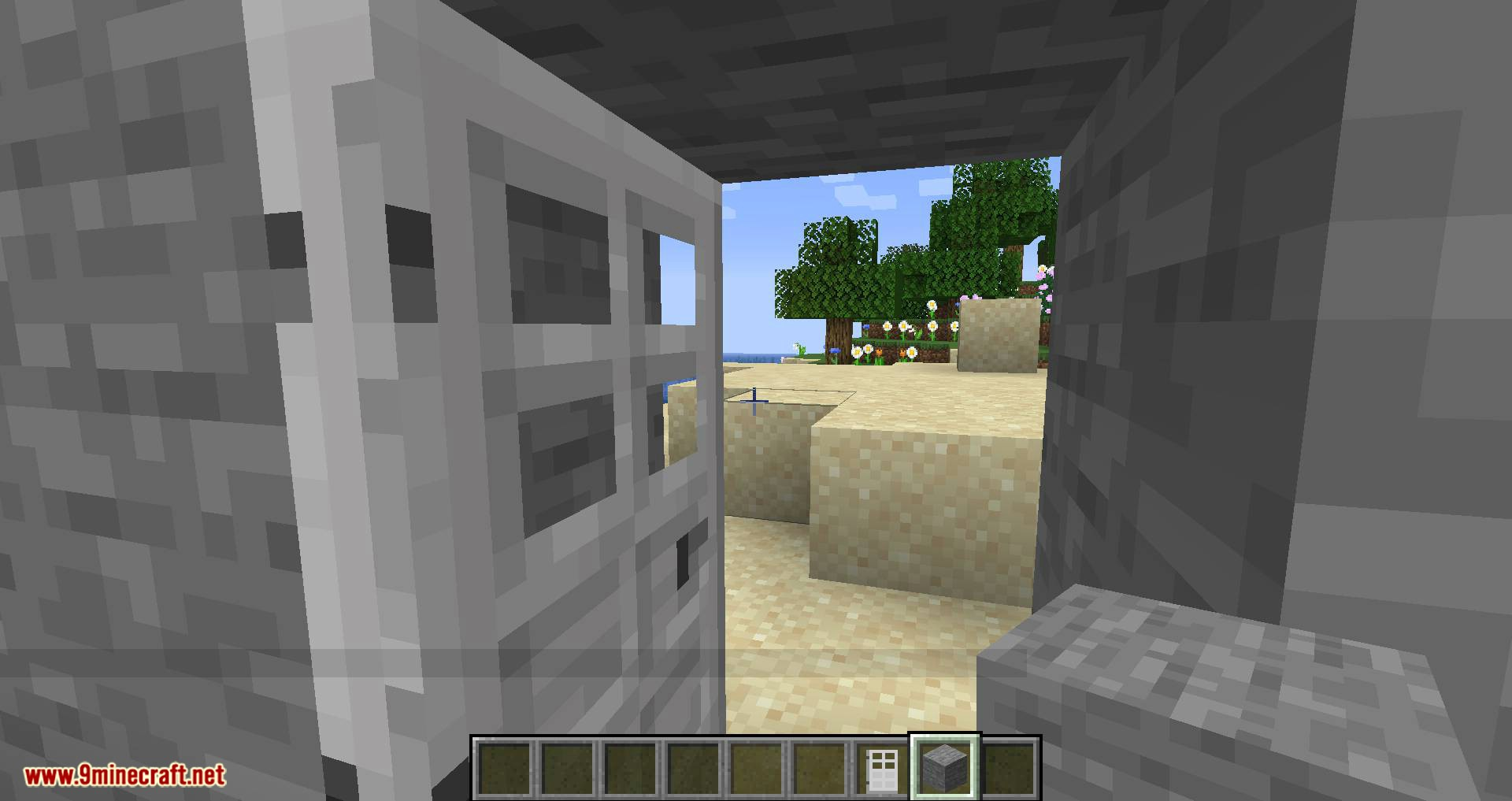 Automatic Door mod for minecraft 09